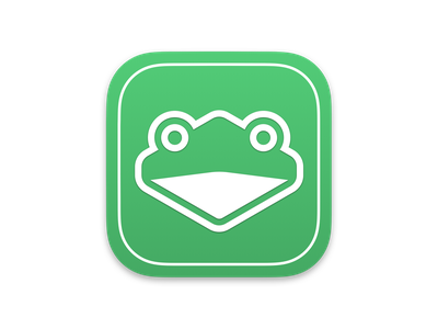 A Certain Green Frog icon mac macos