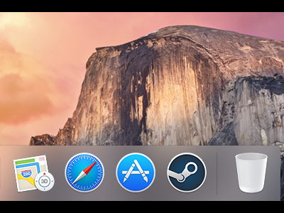 OS X Steam Icon steam mac icon