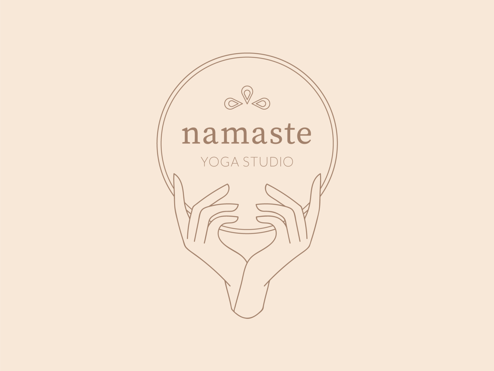 Yoga Studio Logo By Gugala Dsgn On Dribbble