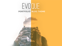 EVOQUE portfolio & Blog Theme