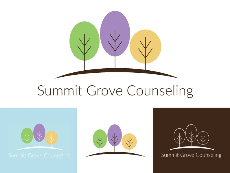 Counseling Center Logo Design typography marketing vector logo illustration adobe indesign adobe illustrator graphic design design counseling print design branding logo design