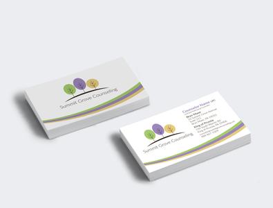 Counseling Services Business Card Design mockup logo design counseling business card business card design adobe photoshop logo branding adobe indesign vector typography adobe illustrator print design illustration graphic design design