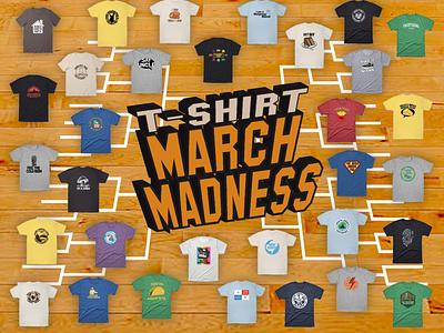 T-Shirt March Madness Pick 'Em march madness t-shirt graphic tees mockup t-shirt design adobe photoshop illustration vector adobe illustrator graphic design design
