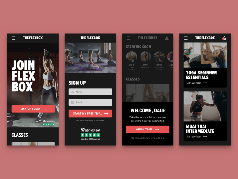 Fitness Mobile App daily ui 001 sign up 001 daily ui challenge daily ui dailyui online signup user experience user interface ui  ux ui design fitness app