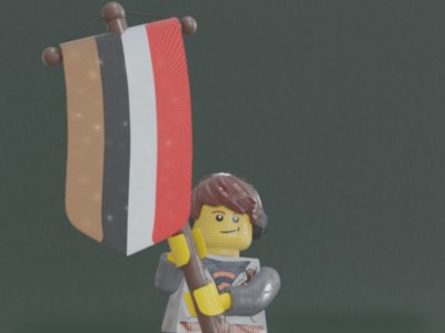 Lego Righteousness Month - Redemption - Day 8 samino righteousnessmonth shader pbr lego b3d