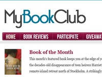 MyBookClub - Book Club Website Layout