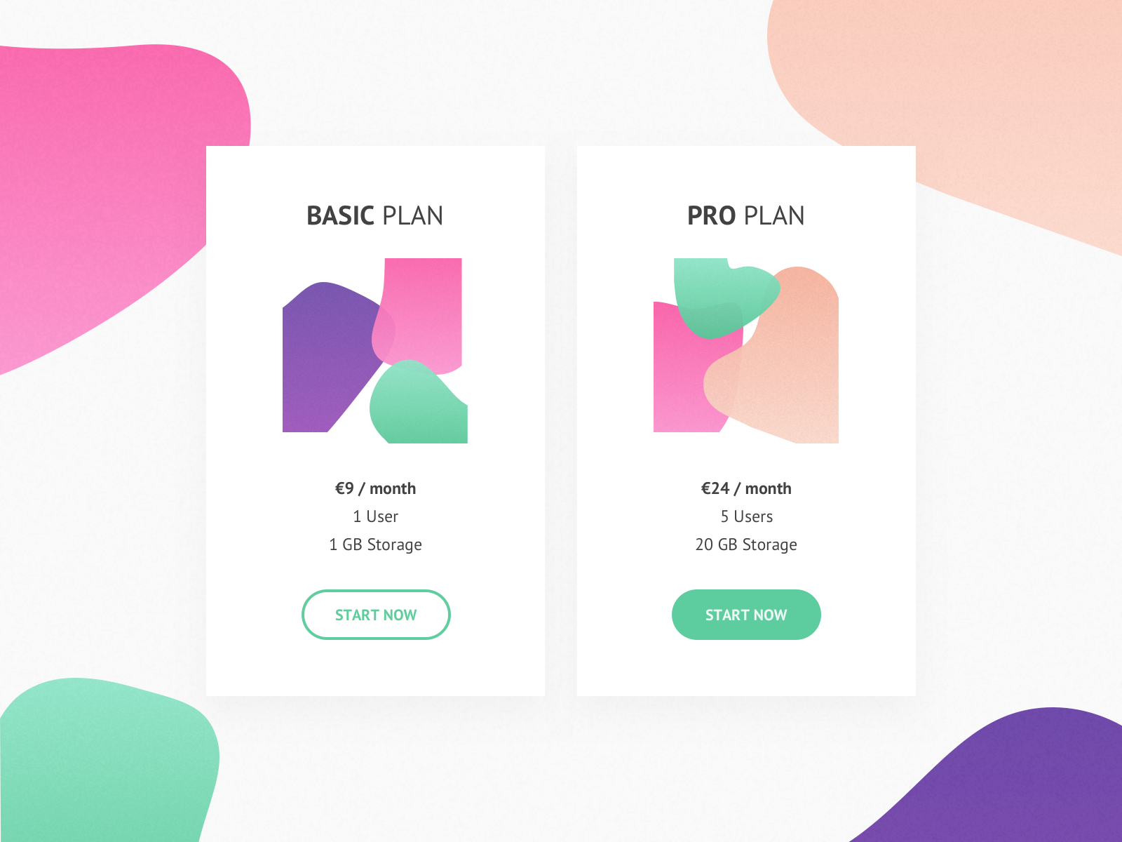 Daily UI  #30 - Pricing