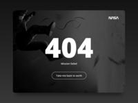 Daily UI #08 - 404