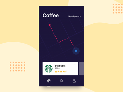 Daily UI #29 - Map 29 map card dailyui daily ui