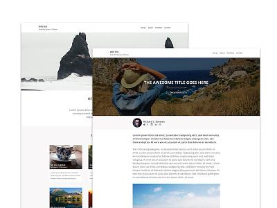 Wordpress theme concept concept theme wordpress
