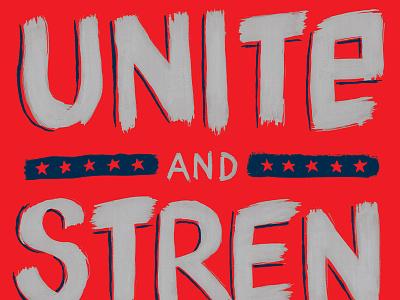 Unite and Strengthen usa unite strengthen soccer futbol american outlaws