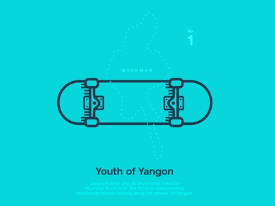 Astronaut Magazine  #3  - Youth Of Yangon