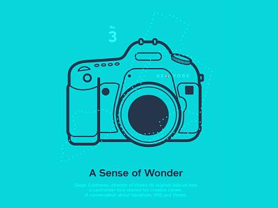 Astronaut Magazine #4  - A Sense Of Wonder astronaut magazine camera illustration canon photo reflex
