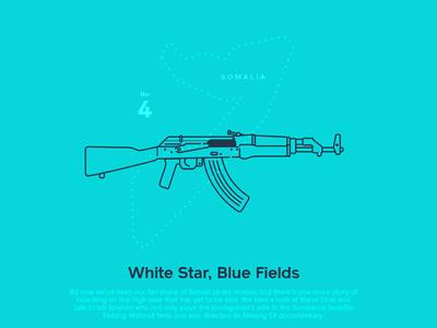 Astronaut Magazine #4  - White Star Blue Fields