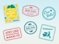 Bella Italia Stamps