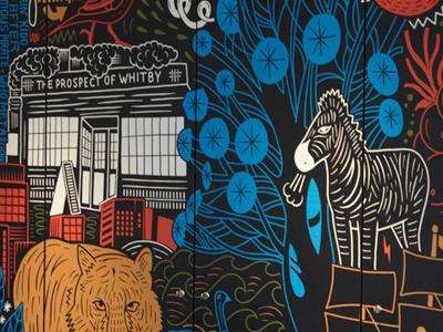 Wapping Mural wapping mural rudi de wet studio