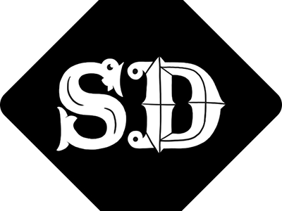 Siân Darling Favicon typography illustration