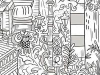 J & B Mural Closeup
