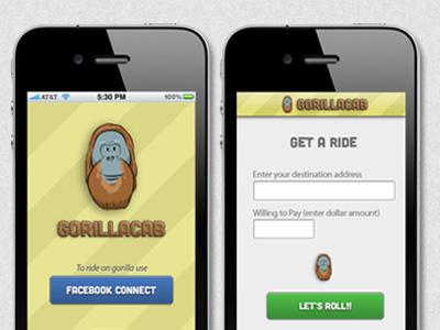 Gorillacab app