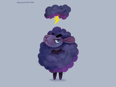 Stormy Sheep