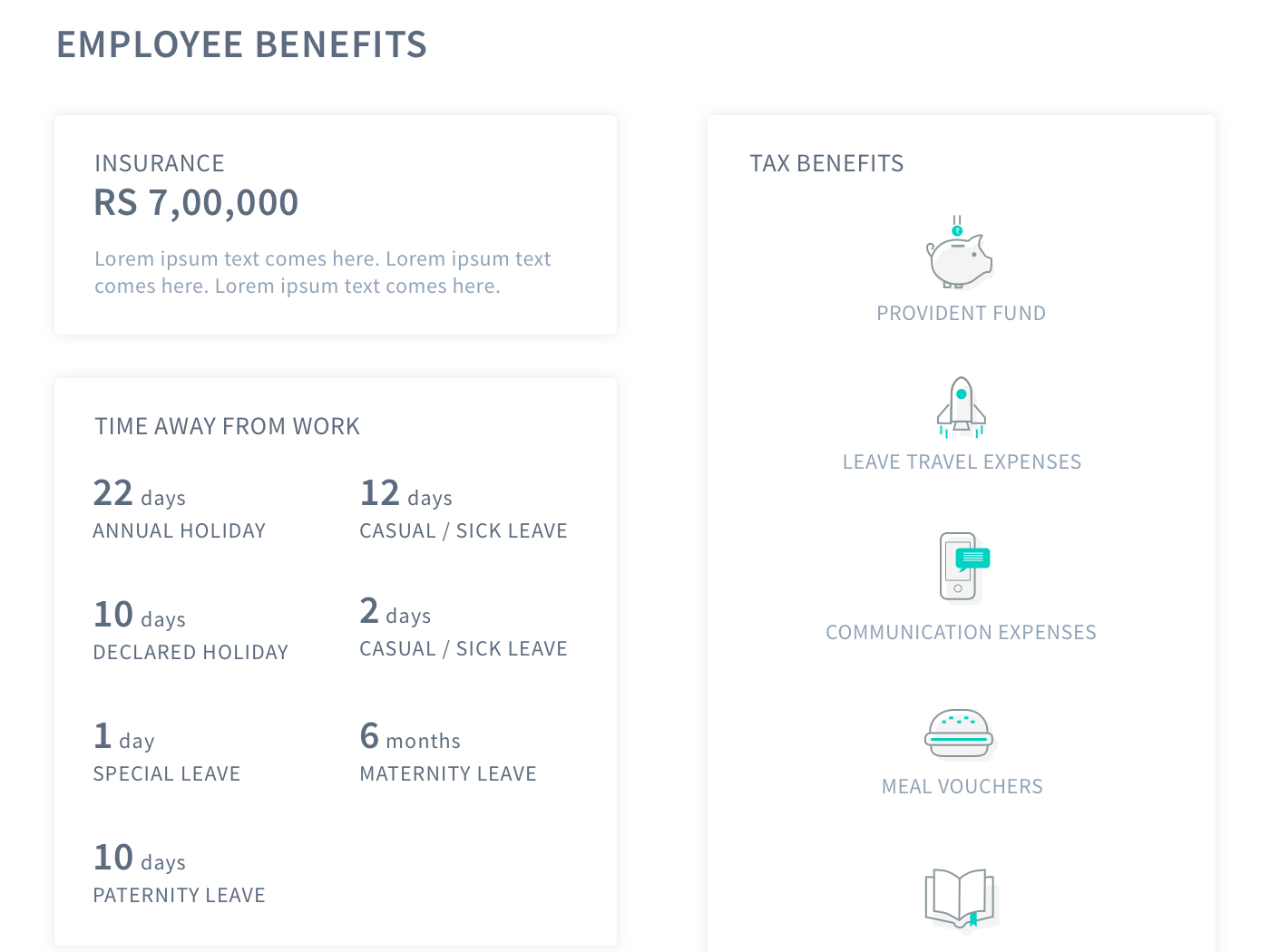 Employee Offer Letter Template from cdn.dribbble.com