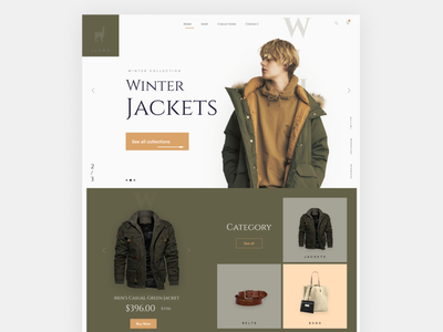 Apparel ecommerce website design shopping cart design website design webdesign userinterface uidesign ui minimal clothing apparel design store app store online shop ecommerce shop