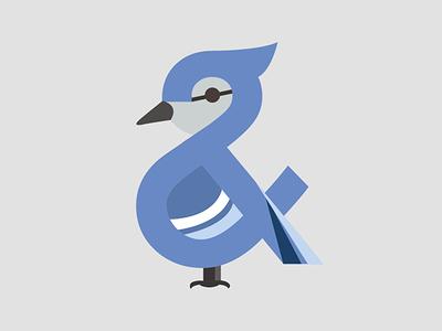 Ampersand-imal (Blue Jay)
