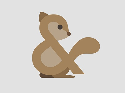 Ampersand-imal (Squirrel)