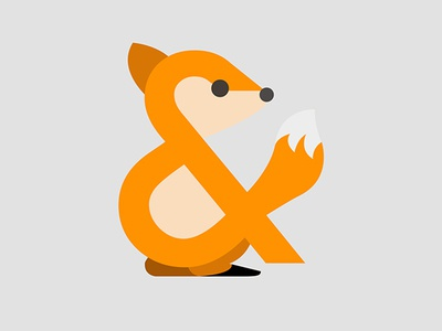 Ampersand-imal (Red Fox)