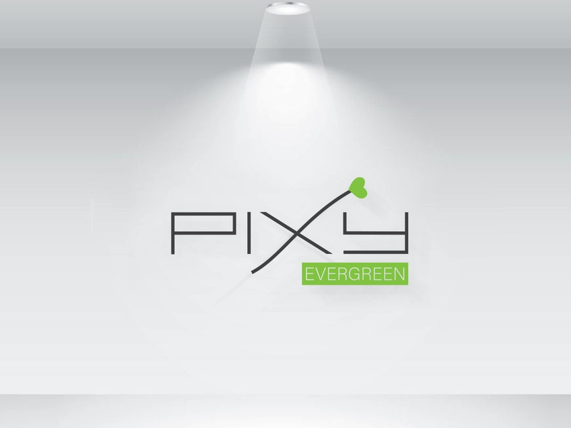 Pixy Evergreen Logo ui modern logo minimalist logo minimalistic minimalist minimal logotype logos logo mark logo maker logo designer logo design logodesign logo brand logo graphicdesign flat business design branding brand design