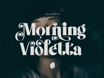 Morning Violetta + Extra font typeface font family display typography display 2020