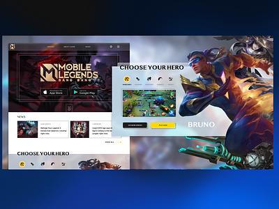 Mobile Legends game mobile legends ui design