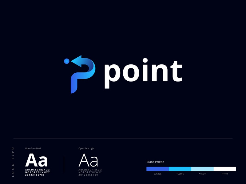 P+Point Logo Design logo and branding gradient design point logo p letter logo p logo goldenratio golden ratio logo gradient logo letter logo illustrator abstract logo concept brand identity new logo design creative logo branding design branding brand design logo design logo 2020