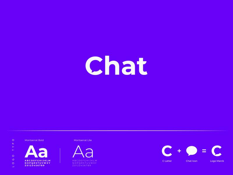 Chat Logo Design chat logo c logo c letter logo letter logo concept brand identity new logo design icon creative logo branding design brand design logo design logo 2020