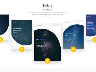 Explore White Papers logo graphicdesigner adobe ux ui illustrator graphicdesign design dribbble behance