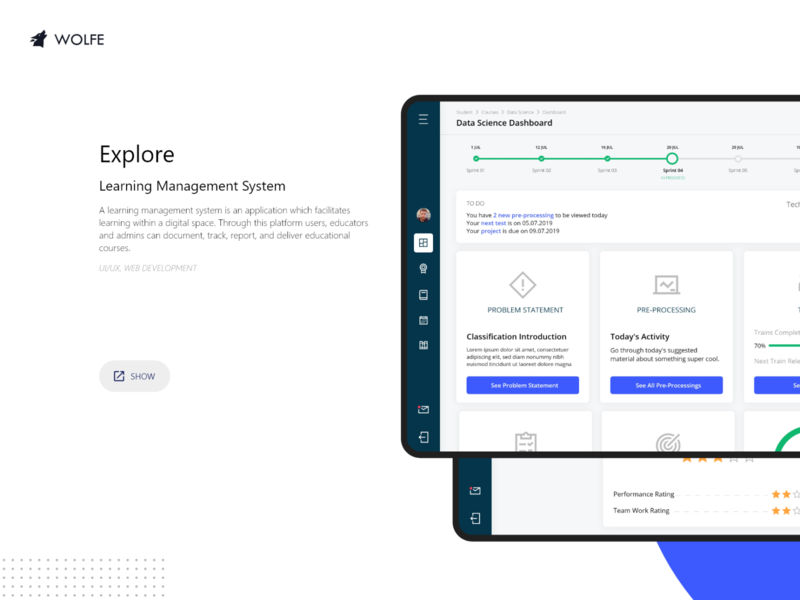 Explore Learning Management System (LMS) logo graphicdesigner adobe ux ui illustrator graphicdesign design dribbble behance