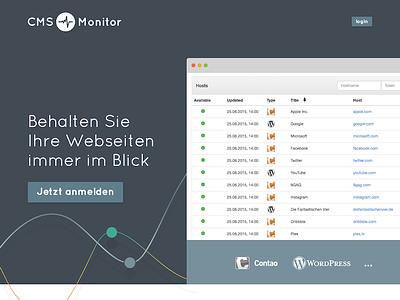 CMS Monitor web