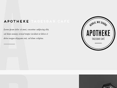 Apotheke interface web