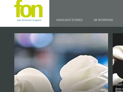 formnext web magazine  interface web