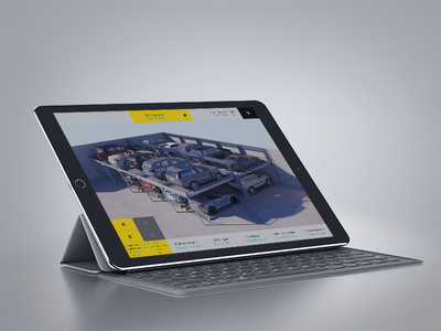 Configurator 2017 interface tablet app