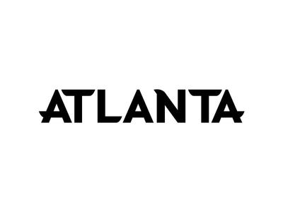 Atlanta Logotype Concept atlanta falcons atlanta font family logodesign typeface typogaphy logotype