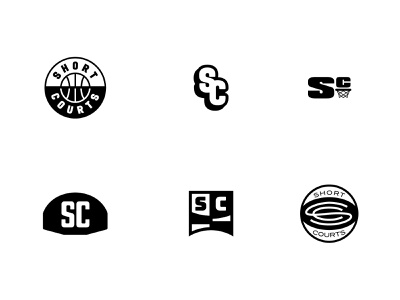 Short Courts Secondary Concepts sports logo sports branding sports small business concepts concept bball roundel logotype basketball branding logo typography