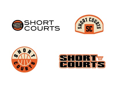 Short Courts — Round 2 concepts roundel hoop nba court basketball design logo branding typography
