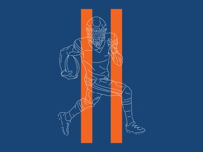 Bear #11 11 wr wide receiver chicago bears chicago bears illustration numbers nfl football typography