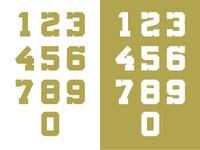 Militia Bold Numerals