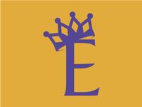The Esther Logo Secondary - Purple