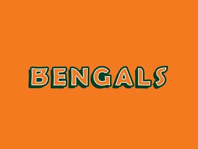 Bengals Logo Type