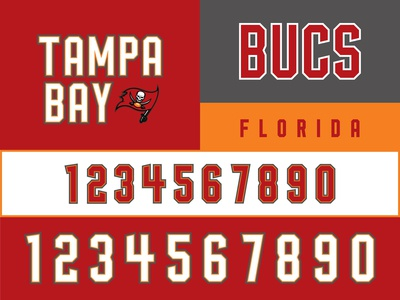 Tampa Bay Bucs Rebrand