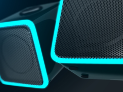 Audio Speaker_LED vraynext 3dsmax autodesk 3d product speaker led after effect compositing rendering render product