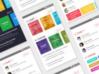Chat/Forum App